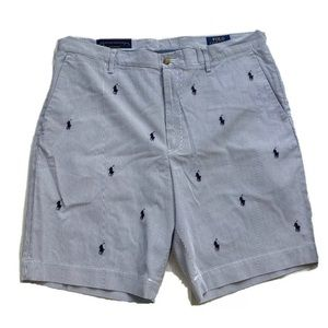 Polo Ralph Lauren Classic Fit Pinstripe Pony Short